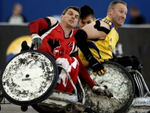Регби на колясках - wheelchair rugby