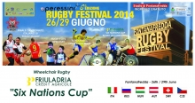 Кубок Шести Наций 2014 (Италия) - Регби на колясках - FriulAdria Six Nations Cup